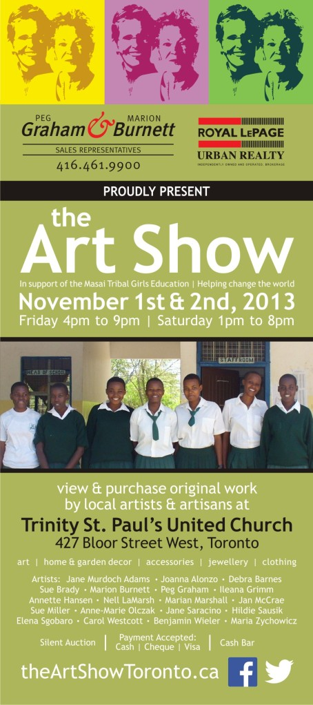 the Art Show Postcard Fall 2013 updated